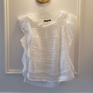 White Lace Blouse
